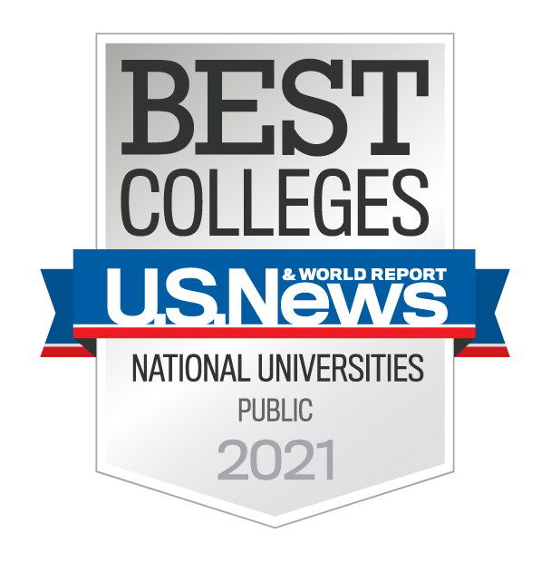 U.S. News Best Colleges National Universities Public 2021
